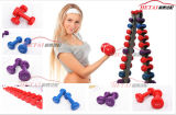 0.5kg - 8kg Colorfull Vinyl Dipping Dumbbell per Women