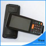 Portable en pantalla grande del mensajero PDA con el explorador del código de barras y 4G