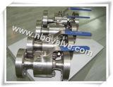 2つの方法ステンレス鋼は造った球弁(ASTM F304)を