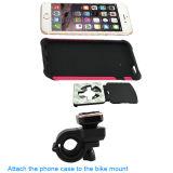 Il supporto mobile del supporto della bici di alta qualità con la sede del telefono mobile digiuna serratura