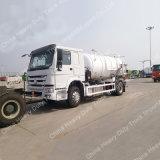 Sinotruk HOWO 4X2 6000Lの下水の吸引のトラック