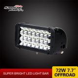 3列の極度の明るいスポットライト72W LEDのライトバー