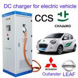 Het Laden van het Elektrische voertuig CCS Post