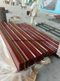 Galvalumeか電流を通された波形の鋼板、