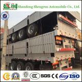 De nieuwe Aanhangwagen 3axle 60tons van de Vrachtwagen van de Lading van de Zijgevel Semi