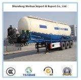 40cbm 반 트레일러의 대량 시멘트 유조 트럭 트레일러