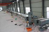 La pierre ébrèche la chaîne de production de tuile de toit d'enduit