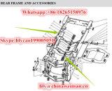 El cargador de las partes frontales de Sdlg LG953 LG956 LG958 parte la funda/el buje 29270001031