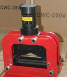 油圧銅アルミニウム鋼鉄打抜き機Vの形の油圧真鍮のカッター