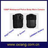 Камера тела полиций WiFi 4G пригодная для носки построенная в GPS GPRS Bluetooth
