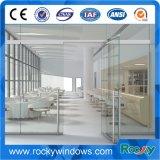 Porte d'oscillation 10mm en verre rocheuse de Frameless