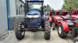 trator de exploração agrícola de 130HP 4WD grande com fábrica da alta qualidade