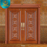 China Luxury Double Main Wood Door for Villa