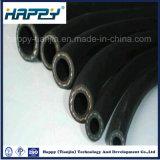 Boyau en caoutchouc tressé de fibre de la Chine pour la distribution de carburant /huile