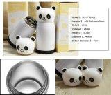 Симпатичная склянка вакуума сублимации нержавеющей стали панды (BY-FTB-08)