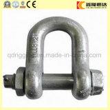 La gota forjó grande de acero nos fuerza los grillos de cadena forjados estándar