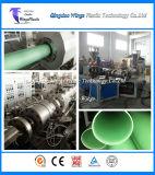 Linha de produção da tubulação do PVC/linha gêmea cónica da extrusão do parafuso do gêmeo da tubulação da extrusora de parafuso/PVC