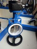 De Vleugelklep van het Wafeltje van de Zetel EPDM Met CF8 Opgepoetste Schijf Pn16