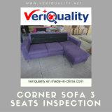 角のソファー3のシートの品質管理の点検サービス