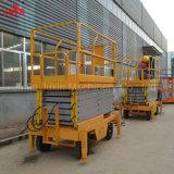 Machines de construction aériennes de plate-forme de matériel de levage de ciseaux