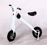 "12 ""Smart City Walking Electric Bicycle Mini Folding Electric Car Electric Bike Folding Motocicleta Motocicleta Elétrica"