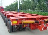 5 assi 100 tonnellate rimorchio dell'asse del rimorchio modulare idraulico della direzione da 200 tonnellate multi