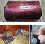 fita impermeável de piscamento autoadesiva do betume do alumínio de 1mm 1.5mm 2mm