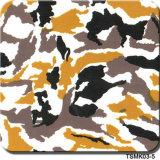 Camouflage van de Breedte van Tsautop de In het groot 0.5m/1m en Film Tsmh12518 van de Film van de Film van de Druk van de Overdracht van het Water van de Boom de Hydrografische Hydro Onderdompelende