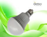 60W Incandescent 8W LED Lamp E27를 대체하십시오