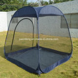 PEの床が付いているポップアップ網のテント