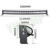 12V 40inch 224W 크리 사람 잡종은 LED에 의하여 구부려진 표시등 막대를 젓는다