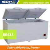 12/24V DCの圧縮機408Lの太陽冷凍庫