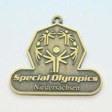 柔らかいエナメルが付いているカスタマイズされた金属メダル