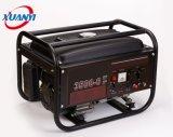Gerador monofásico do uso da HOME do motor de gasolina da potência da fase 3kw kVA bom