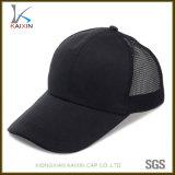 Comitato di abitudine 6 nessun cappello della protezione della maglia del camionista del cotone dello spazio in bianco di marchio
