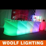 Colores que cambian el contador de la barra de iluminación del club nocturno LED