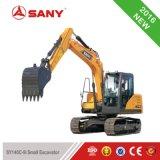 Sany Sy140 piccolo escavatore di scavatura del cingolo della costruzione della macchina del foro di alta efficienza 13.5 tonnellate