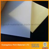 Folha quadrada/redonda do difusor do picosegundo do plástico/folha difusão da iluminação para o diodo emissor de luz