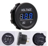 12V-24V LED Digital Display Voltmeter de Automobile Voltage Monitoring