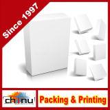 Rectángulo acanalado de empaquetado del regalo de papel (1102)