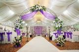 2016 de Nieuwe het Kamperen Tent van het Huwelijk van de Tent van de Decoratie van de Luifel van het Huwelijk