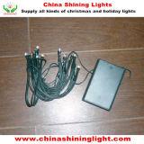 Зеленые света 20LED стандарта 2m евро Ce провода Fairy