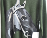 Il manicotto lungo degli uomini di inverno ha modellato i maglioni lavorati a maglia del pullover