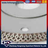 Qualitäts-Wirbelsturm-Ineinander greifen-Turbo-Diamant Sägeblatt-Diamant-Ausschnitt-Rad