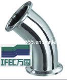 Coude serré sanitaire de 45 degrés (IFEC-SE100003)
