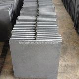 Pietra per lastricati veduta del basalto grigio del taglio per il pavimento