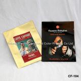 Douane Afgedrukte Vierling Verzegelde Plasctic die de Unidirectionele Zak van de Koffie van de Klep verpakken