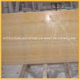Azulejo amarillo de /Wall del suelo del Onyx de la miel para la decoración del hotel
