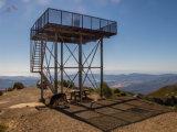 Torre de protector autosuficiente de acero galvanizada