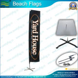 Escolhir ou Double Sided Flying Beach Feather Flag (SC-NF04F06070)